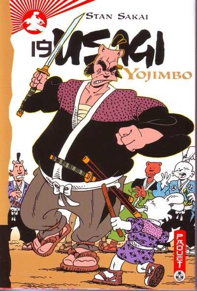 Couverture de Usagi Yojimbo -19- Volume 19