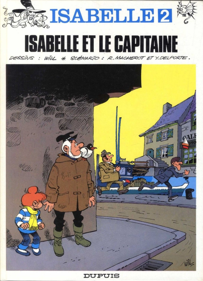 Isabelle n°2. Isabelle et le Capitaine