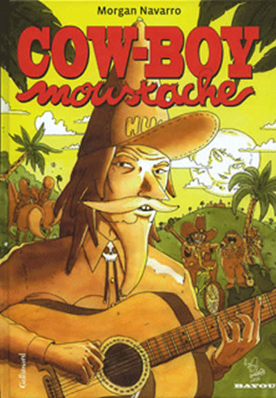 Couverture de Cow-boy moustache - Cow-Boy Moustache