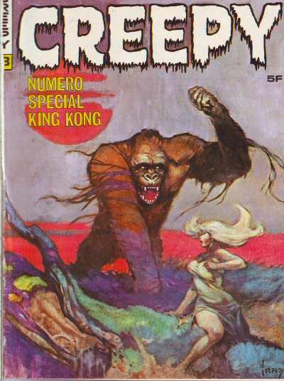 Couverture de Creepy (Publicness) -8- Spécial King Kong