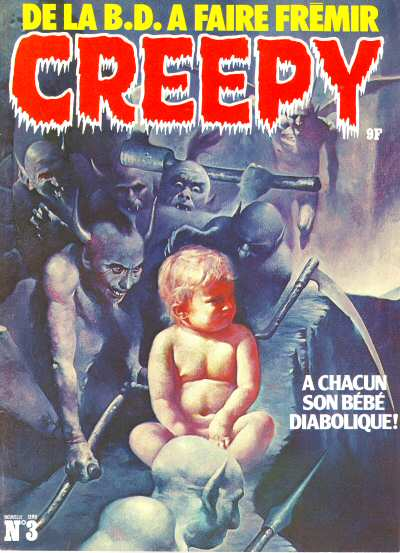 Couverture de Creepy (Triton) -3- A chacun son bébé diabolique !