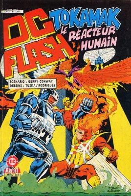 Couverture de DC Flash -4- Tokamak le réacteur humain