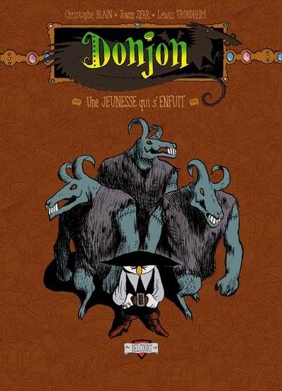 Couverture de Donjon Potron-Minet --97- Une jeunesse qui s'enfuit