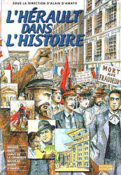 Couverture de Dans l'Histoire -1- L'Hérault dans l'Histoire