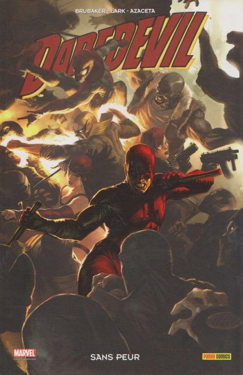 Couverture de Daredevil (100% Marvel - 1999) -17- Sans peur