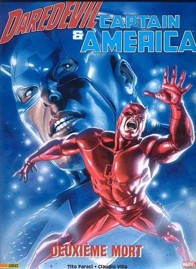 Couverture de Daredevil & Captain America - Deuxieme mort