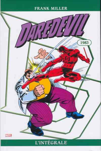 Couverture de Daredevil (L'intégrale) -31983- Daredevil : L'intégrale 1983