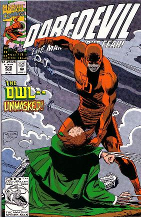 Couverture de Daredevil (1964) -302- Nocturnal hunter