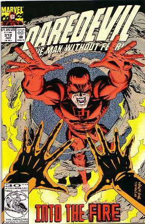 Couverture de Daredevil Vol. 1 (Marvel - 1964) -312- Hot flashes