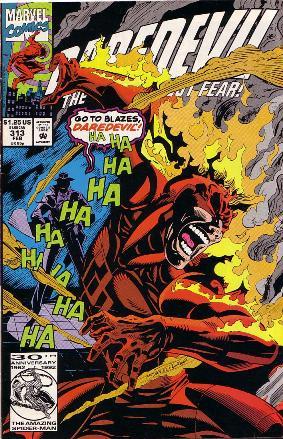 Couverture de Daredevil (1964) -313- So cold it burns