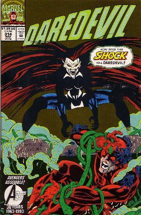 Couverture de Daredevil Vol. 1 (Marvel - 1964) -314- Shock treatment