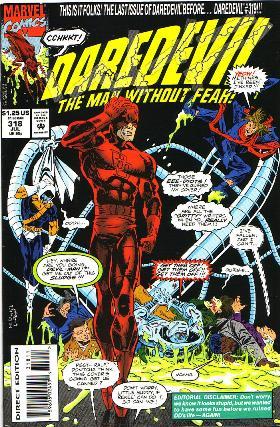 Couverture de Daredevil (1964) -318- Grease monkeys