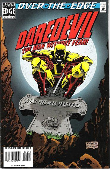 Couverture de Daredevil (1964) -344- Over the edge part 2 : old soldiers