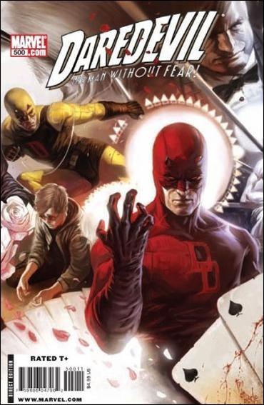 Couverture de Daredevil (1964) -500- The return of the king conclusion