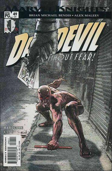 Couverture de Daredevil (1998) -49- Hardcore part 4