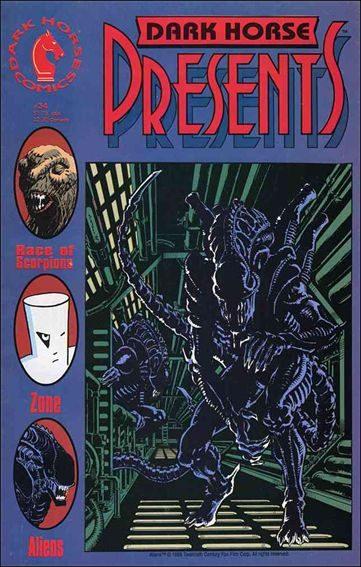 Couverture de Dark Horse Presents (1986) -34- Dark Horse Presents #34