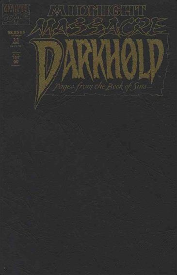 Couverture de Darkhold, pages from the Book of Sins -11- Midnight massacre part 3 : doomsday