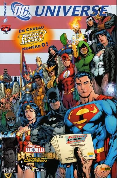 Couverture de DC Universe -27- La ligue de justice d'amérique