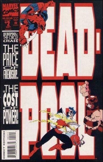 Couverture de Deadpool: The circle chase (1993) -2- The circle chase round 2 : rabbit season, duck season