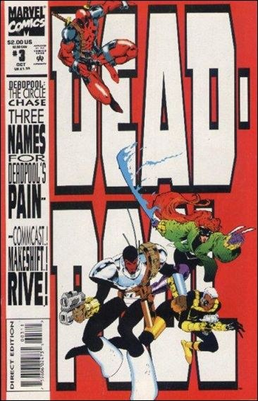 Couverture de Deadpool: The circle chase (1993) -3- The circle chase round 3 : and quacks like a duck