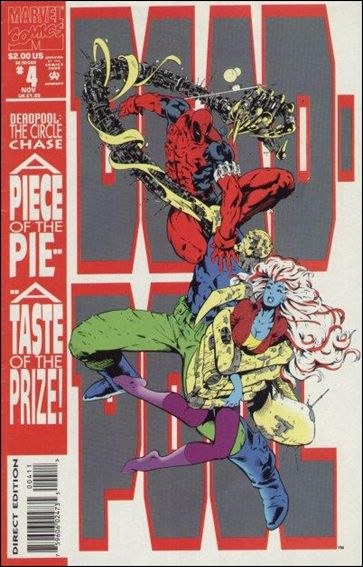 Couverture de Deadpool: The circle chase (1993) -4- The circle chase round 4 : duck soup