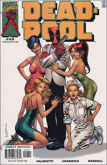 Couverture de Deadpool (1997) -49- Cat magnet