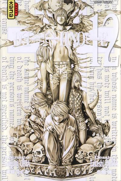 Couverture de Death Note -12- Tome 12