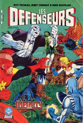 Les défenseurs (2e série - Arédit - Arédit DC)