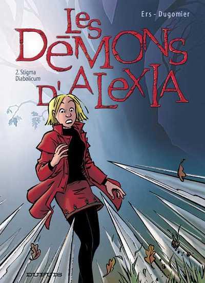 Couverture de Les démons d'Alexia -2- Stigma Diabolicum