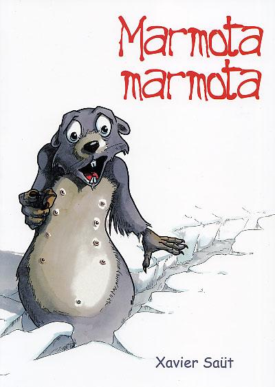 Couverture de La faune des Pyrénées -2- Marmota marmota