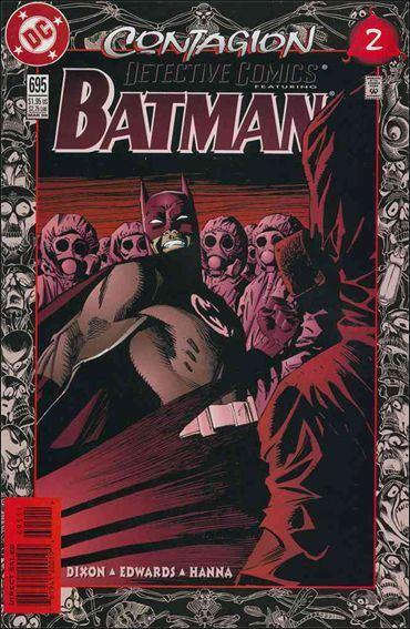 Couverture de Detective Comics (1937) -695- Contagion part 2 : the grey area