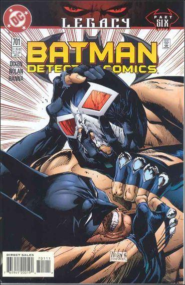 Couverture de Detective Comics (1937) -701- Legacy part 6 : Gotham's scourge