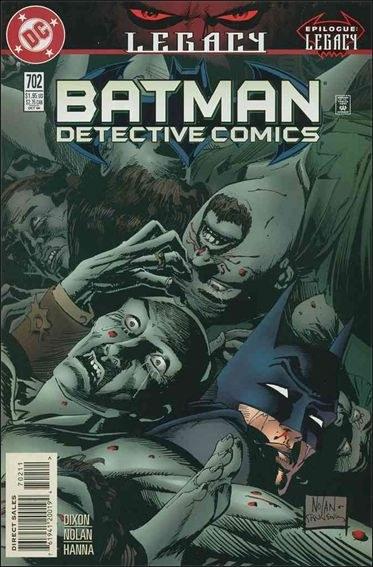 Couverture de Detective Comics (1937) -702- Legacy epilogue : second chances