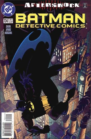 Couverture de Detective Comics (1937) -724- The grieving city