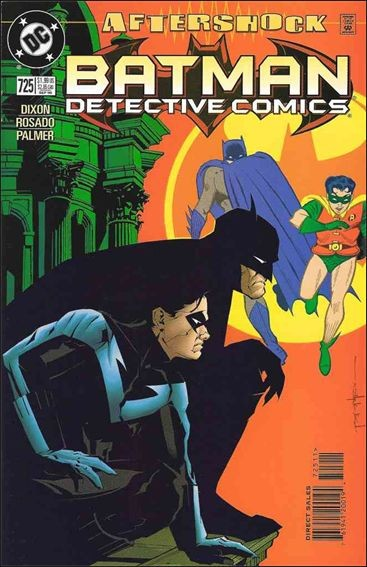 Couverture de Detective Comics (1937) -725- At the end of the day