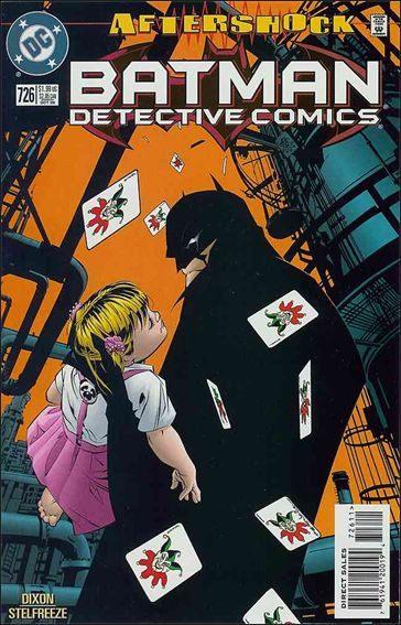 Couverture de Detective Comics (1937) -726- Fool's errand