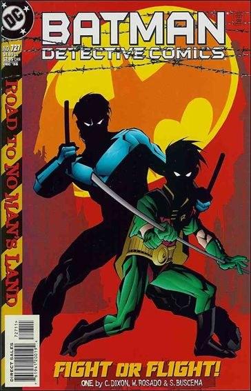Couverture de Detective Comics (1937) -727- Fight or flight part 1 : nest of vipers