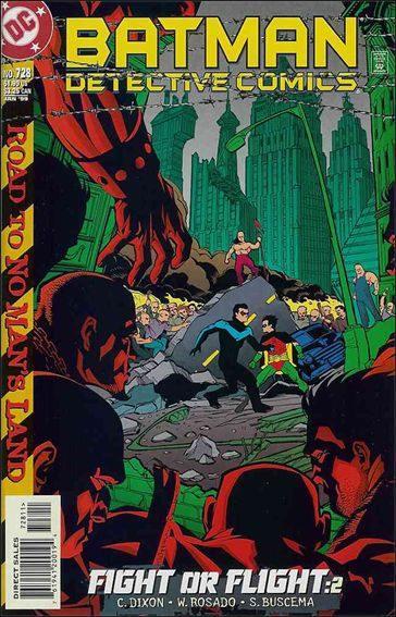 Couverture de Detective Comics (1937) -728- Fight or flight part 2 : chaos squarred