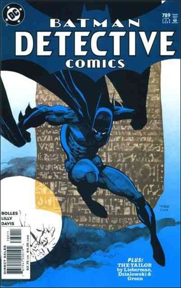 Couverture de Detective Comics (1937) -789- The Randori Stone part 2 / The Tailor part 1