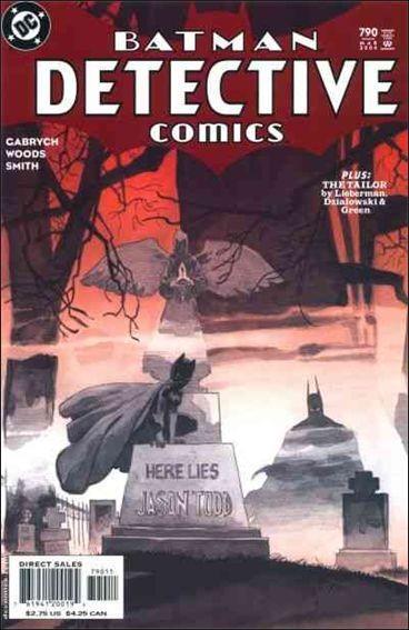 Couverture de Detective Comics (1937) -790- Scarification / the tailor part 2