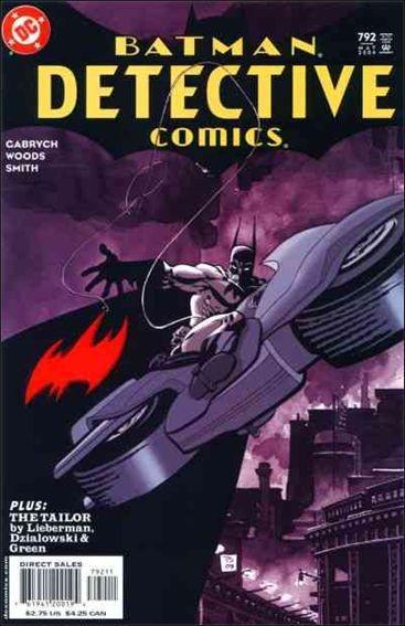 Couverture de Detective Comics (1937) -792- The surrogate part 2 : the blinding / the tailor part 3