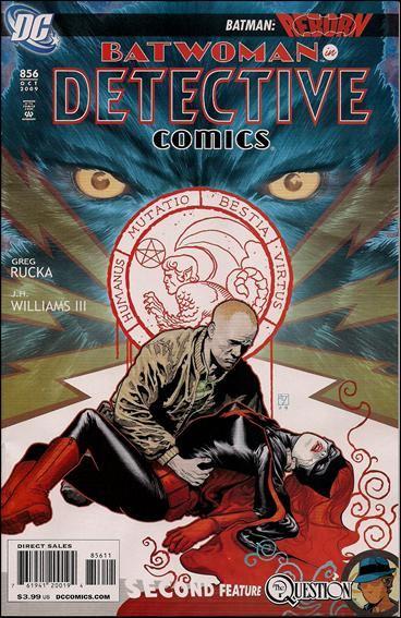 Couverture de Detective Comics (1937) -856- Elegy agitato, part 3 : affettuoso