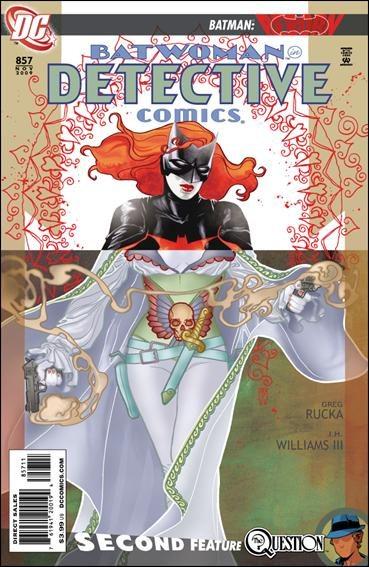 Couverture de Detective Comics (1937) -857- Elegy agitato, part 4 : rubato
