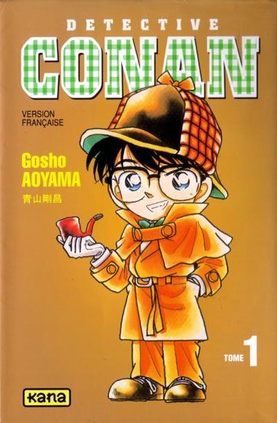Couverture de Détective Conan -1- Tome 1