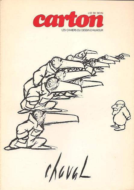Couverture de (DOC) Carton - Les cahiers du dessin d'humour -2- Chaval
