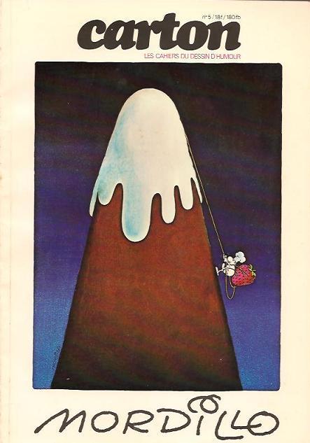 Couverture de (DOC) Carton - Les cahiers du dessin d'humour -5- Mordillo