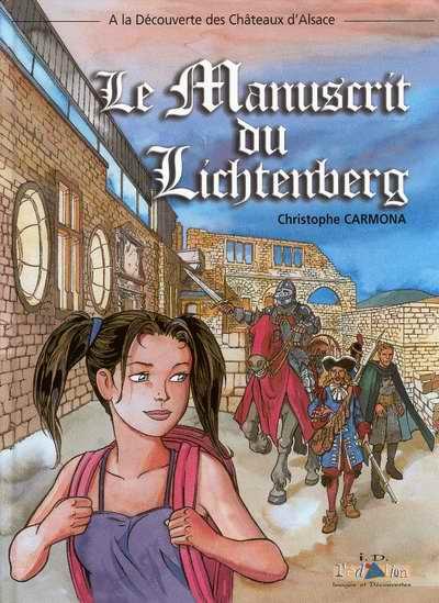 Couverture de Les aventures d'Aline -1- Le Manuscrit du Lichtenberg