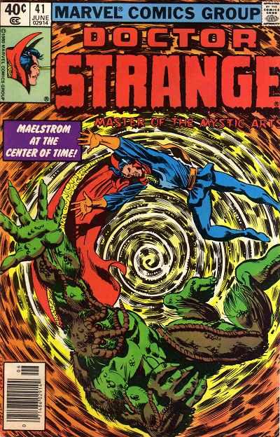 Couverture de Doctor Strange (1974) -41UK- Weep for the soul of man...