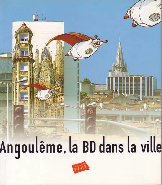 Couverture de (DOC) Études et essais divers - Angoulême, la BD dans la ville