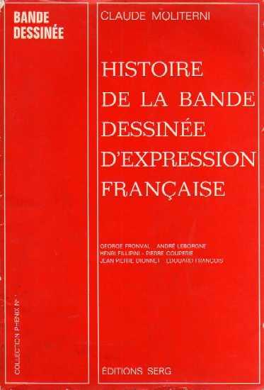 Couverture de (DOC) Études et essais divers -2- Histoire de la bande dessinée d'expression française